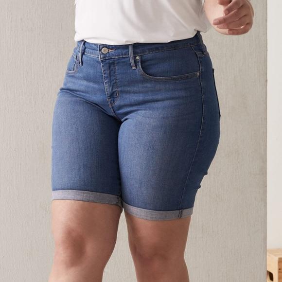 Levi's Pants - Levi's Bermuda Jean Shorts